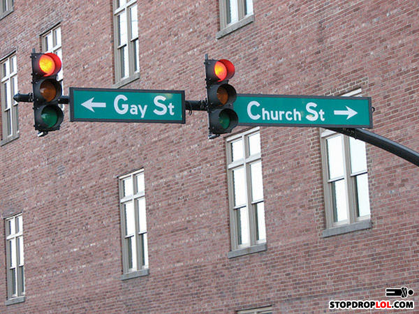 - I'm gonna go to gay street.