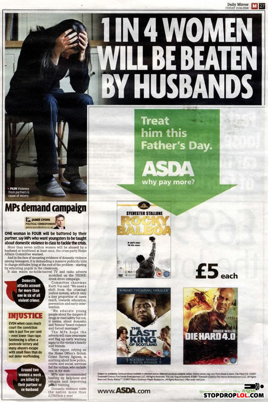 Unfortunate_fathers_day_ad_placement
