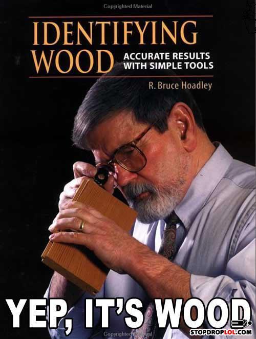 Identifiyingwood