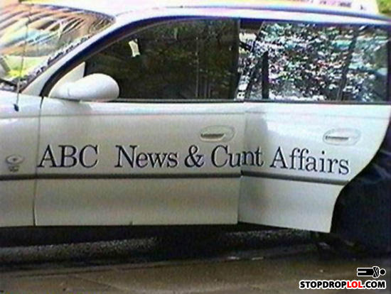 - It's ABC Australia. Would an American really under